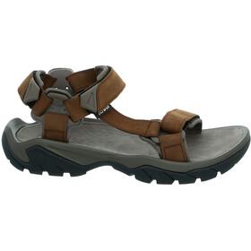Teva Terra Fi 5 Universal Leather Sandals Herr carafe